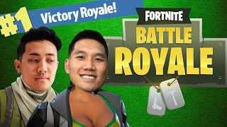 OUR FIRST FORTNITE WIN?!! (WILD CARD)