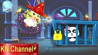 Trò chơi KN Channel BÉ TẬP LÀM PHÙ THỦY   BÚP BÊ GIẢI CỨU GẤU CON TRONG LÂU ĐÀI HẮC ÁM