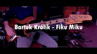 Funk bass slap | Fiku Miku ( Schecter bass cover )