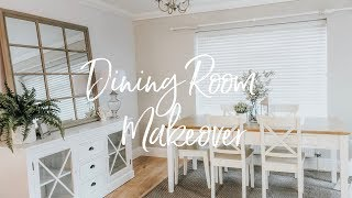 DINING ROOM MAKEOVER, HAUL & TOUR! | BEFORE & AFTER | KATE MURNANE ad