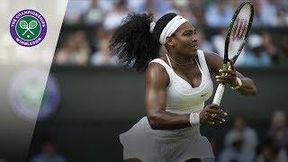 Serena Williams vs Heather Watson: Wimbledon third round 2015 (Extended Highlights)