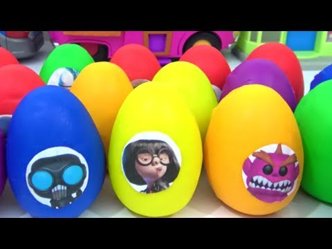 30 INCREDIBLES 2 Play-Doh Surprise Toy Eggs with Mr. Incredible, Baby Jack-Jack Superhero Family