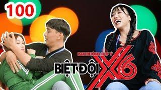 X6 SQUAD| BDX6 #100 | Dieu Nhi surprisingly looks at Thuan Nguyen hugs Si Thanh | 151217 💋