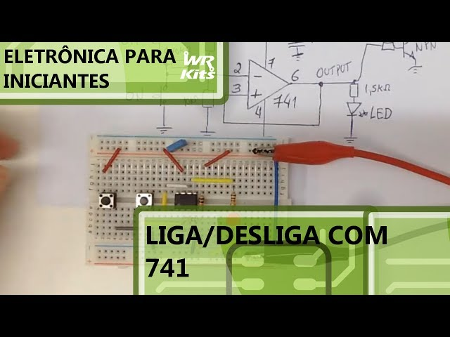 LIGA/DESLIGA COM 741 | Eletrônica para Iniciantes #065