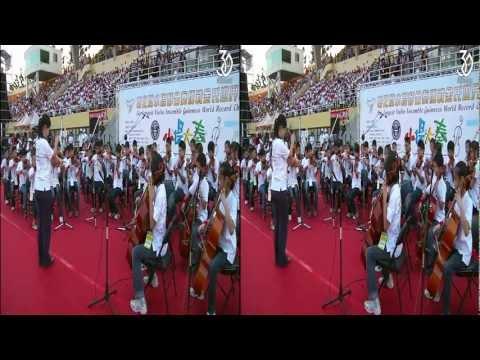 [3DHV] 小提大奏-彰化縣小提琴合奏挑戰金氏世界紀錄
