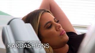 KUWTK | Khloé Kardashian Gets Bad News From Fertility Doctor | E!