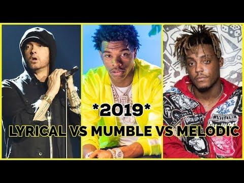 LYRICAL VS MUMBLE VS MELODIC 2019 ! (Joyner Lucas , Lil Baby , Polo G , Juice WRLD & More )
