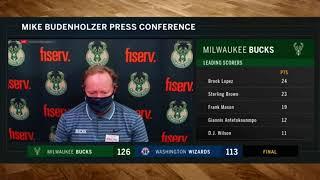 Coach Budenholzer addresses Giannis' ejection