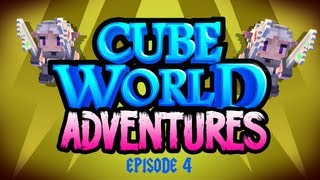 Cube World Adventures Ep. 4 - Dungeonz and Trollz