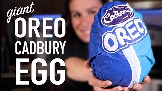 DIY OREO CADBURY EGG *SURPRISE FILLING*