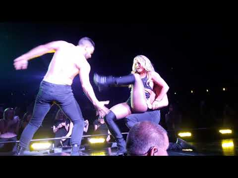Britney Spears - Touch Of My Hand LIVE October 20th 2017
