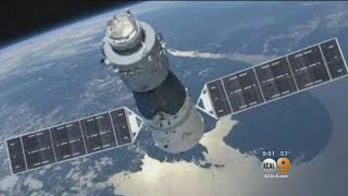 Tracking Tiangong 1 Chinese Satellite Falling To Earth
