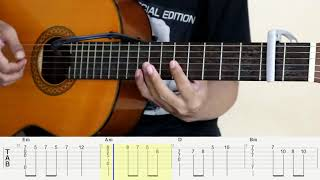 Lily - Alan Walker - Fingerstyle Guitar Cover - Tutorial TAB.