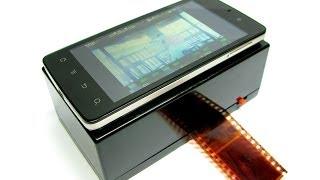 DIY Smartphone Film Scanner (Weekend Project #4)