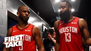 Don't blame James Harden for Chris Paul's bad season – Ryan Hollins | First Take