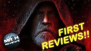 """The Last Jedi REVIEWS """"Best Star Wars Film"""""""