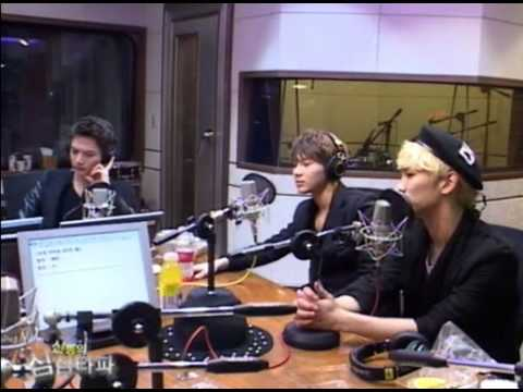 130228 SHINee Talk about Suju Eunhyuk + Taemin Harlem Shake ShimShimTapa