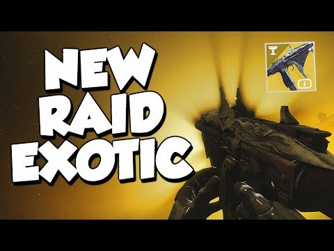 """NEW Raid Exotic SMG """"Tarrabah"""" How Good Is It? [Destiny 2]"""