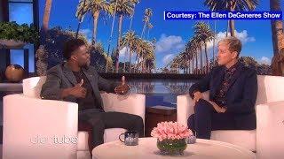 Ellen DeGeneres urges Kevin Hart to reconsider hosting Oscars in new interview