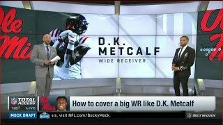 How to cover a big WR like D.K. Metcalf | NFL Total Access