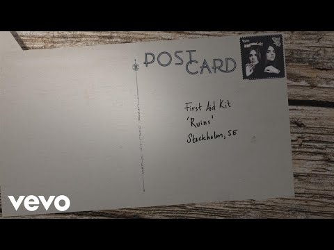 First Aid Kit - Postcard (Lyric Video)