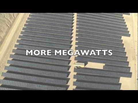 2013: More solar fields! More megawatts!