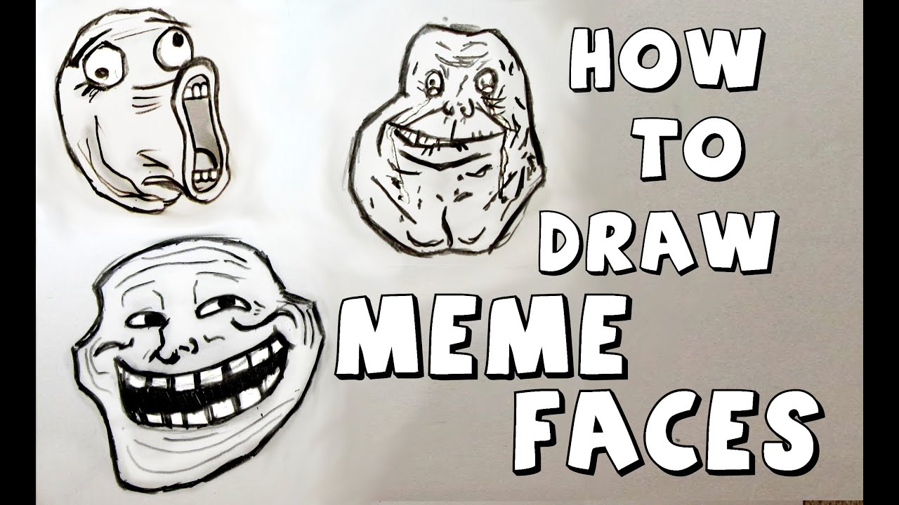 How To Draw Meme Face