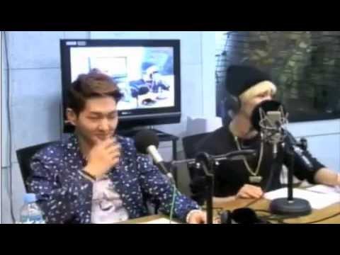 [13O318] Onew makes fun of sleepy baby Taemin