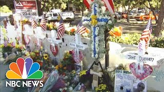 Community Grieves Thousand Oaks Shooting With White Wooden Crosses   NBC News