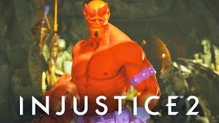 INJUSTICE 2 - ALL Hellboy SAVAGE Dialogues!