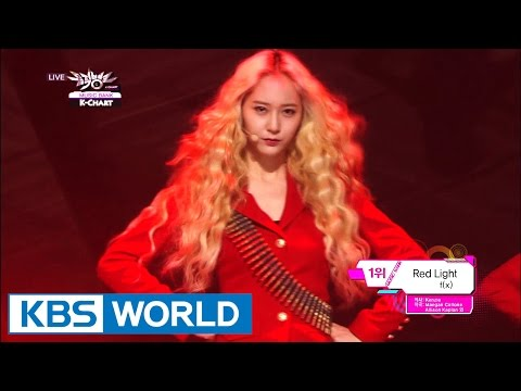 3rd Week of July & f(x) - Red Light (2014.07.18) [Music Bank K-Chart]