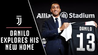 DANILO'S OFFICIAL INTRODUCTION & JUVENTUS TRAINING