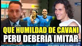 """PERIODISTA PERUANO IMPRESIONADO CON LA HUMILDAD DE LOS JUGADORES URUGUAYOS """"PERU DEBERÍA IMITARLOS"""""""