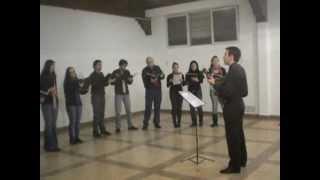 Mañana se presenta el Grupo Vocal Ocho y Media