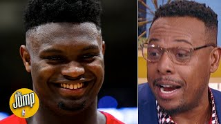 Paul Pierce reacts to Zion's 31-point game: 'This is a rookie?! Oh my goodness' | The Jump