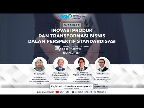 https://www.youtube.com/watch?v=_yP34JwnAbwInovasi Produk dan Transformasi Bisnis dalam Perspektif Standardisasi