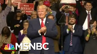 Trump's Red State Presidency Leaves U.S. Without Unifying Leadership   Rachel Maddow   MSNBC