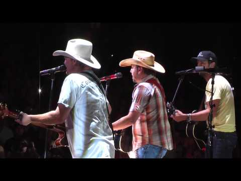 Tracy Lawrence Jason Aldean and Luke Bryan  Time Marches On