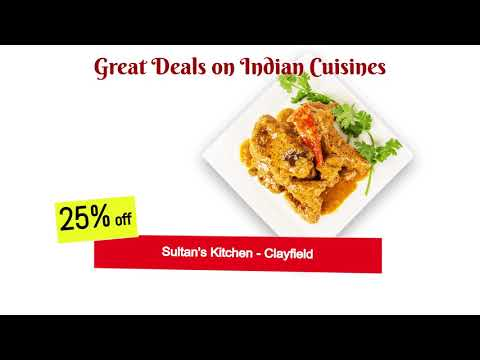Great deals on Indian Cuisines only at OzFoodHunter.com.au