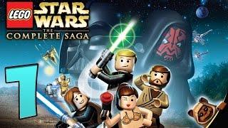 Zagrajmy w LEGO Star Wars The Complete Saga odc.1 Podwodne Miasto