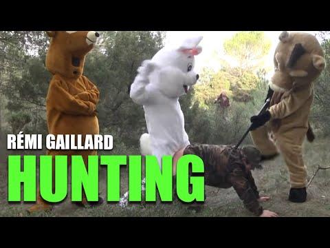 Забегано: Реми Гаилард оди на лов со другарите