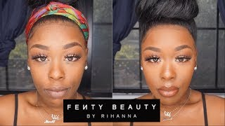 Fenty Beauty for the WIN OR NAH? New Setting Powder and Concealer first Impression