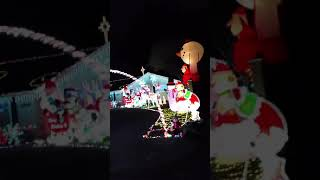 Our favorite Christmas light house!  2018