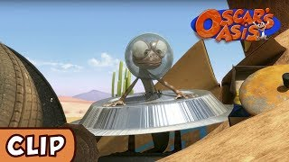 Oscar's Oasis - Alien Attack! | HQ | Funny Cartoons