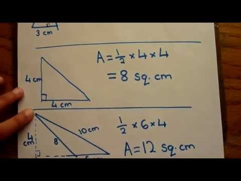 what is the triangle area formula