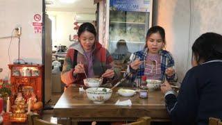 Cuộc sống ở Hàn Quốc:|Tập 49| Đi quán việt nam ăn bún bò huế. 베트남 식당에 분보후에를 먹다