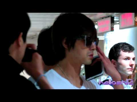 120608 KyuHyun, Eunhyuk, Ryeowook & TVXQ@Immigration of Taiwan Taoyuan International Airport