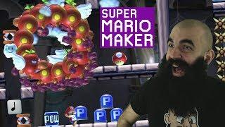 Broken and Dirty | Super Expert No Skip Challenge | Mario Maker [#62]
