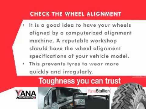 Yana Tyre Care_ Wheel Alignment