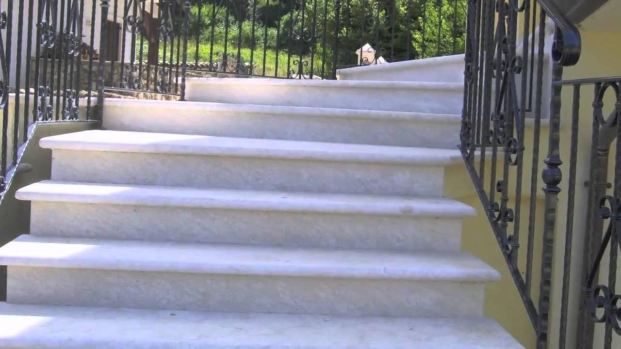 Arredamento casa in marmo e pietre varie youtube for Arredare scale interne